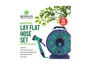 15m Kink Resistant Lay Flat Hose Set