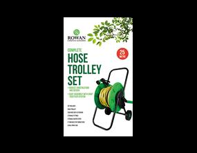 25m Complete Hose Trolley Set