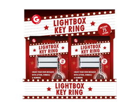 Wholesale Light Box Keyrings | Gem Imports Ltd