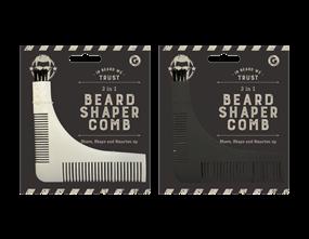 Wholesale 3 in 1 Beard Shaper Comb | Gem Imports Ltd