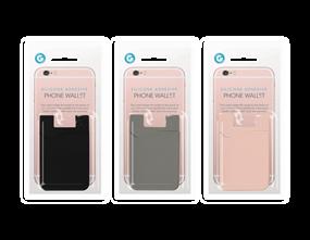 Wholesale Silicone Adhesive Phone Wallet | Gem Imports Ltd