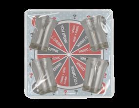 Wholesale Spin A Drink Shot Glass Game | Gem Imports Ltd