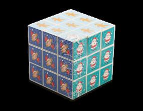 Festive Puzzle Cube
