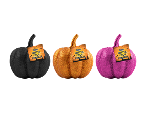 Wholesale Glitter Foam Pumpkin | Gem Imports Ltd