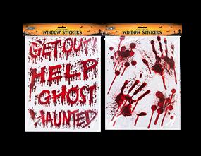 Halloween Bloody Window Stickers