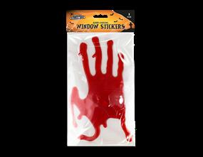 Halloween Bloody Hands Window Stickers