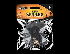 Halloween Spiders - 40 Pack
