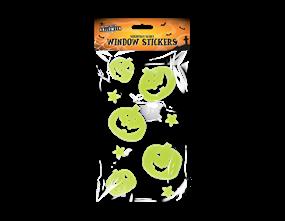 Halloween Gel Window Stickers