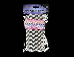Halloween Paper Straws - 20 Pack