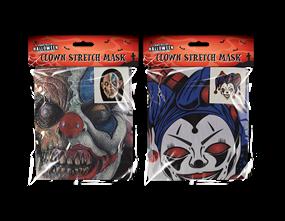 Clown Stretch Face Mask