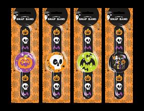 Wholesale Halloween Flashing LED Snap Band | Gem Imports Ltd