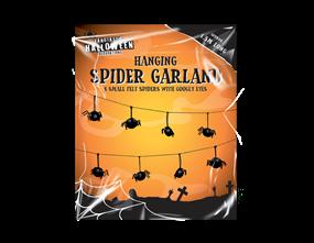 Wholesale Halloween Hanging Spider Garland | Gem Imports Ltd