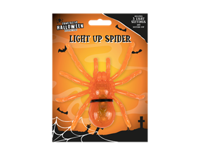 LED Luminous Spider With Suction Cup