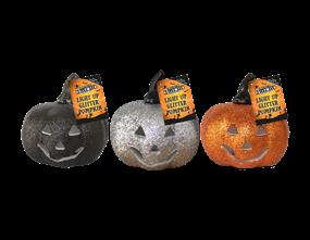 Wholesale Light Up Glitter Pumpkin | Gem Imports Ltd