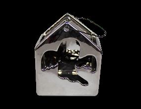 Mirrored Ghost Tea Light Holder