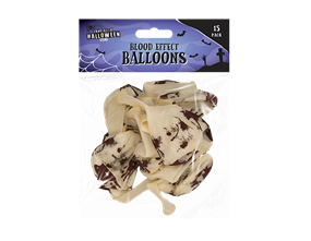Blood Effect Balloons 15PK