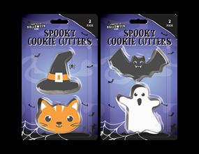 Halloween Cookie Cutter 2pk