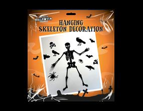 Wholesale Wall Skeleton Halloween Decoration | Gem Imports Ltd