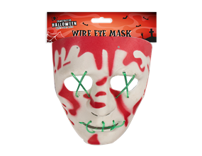 Wholesale Halloween Wire Eye Mask | Gem Imports Ltd