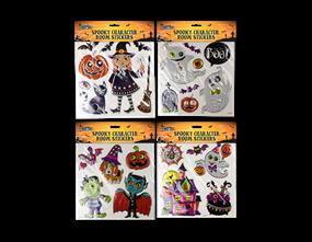 Halloween Character Room Stickers