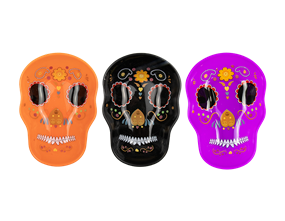 Halloween Sugar Skull Plate