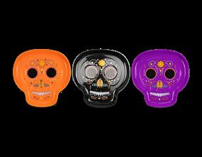 Halloween Sugar Skull Tray
