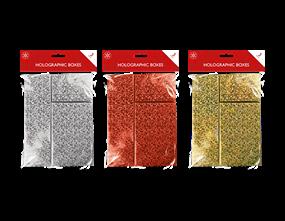 Wholesale Christmas Holographic Boxes | Gem Imports Ltd