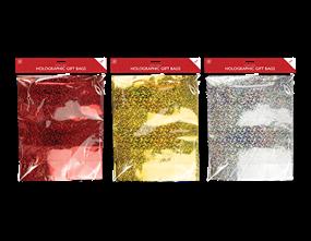 Wholesale Holographic Jumbo Christmas Gift Bags | Gem Imports Ltd