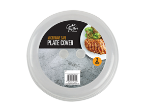 Plastic Plate Covers - 2 Pack