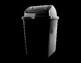 Plastic Swing Top Bin