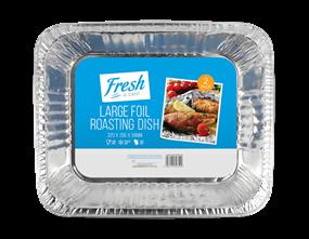 Large Foil Roasting Dishes - 2 Pack