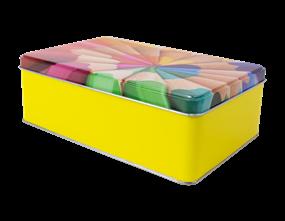 Wholesale Retro Rectangle Storage Tins | Gem Imports Ltd