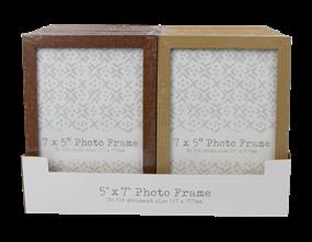 Wholesale Wood Effect Photo Frames | Gem Imports Ltd
