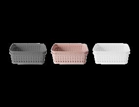 Wholesale Plastic Rattan Effect Storage Baskets   Gem Imports Ltd