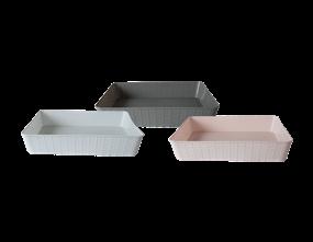Wholesale A4 Plastic Storage Baskets   Gem Imports Ltd
