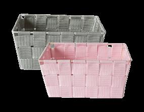 Wholesale Woven Fabric Storage Baskets   Gem Imports Ltd