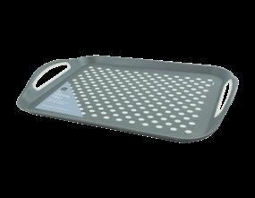 Wholesale Grey Extra Large Anti Slip Serving Trays | Gem Imports Ltd