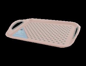 Wholesale Pink Extra Large Anti Slip Serving Trays | Gem Imports Ltd