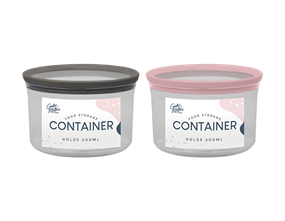Wholesale PS Round Storage Containers | Gem Imports Ltd