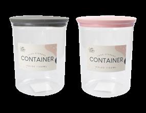Wholesale PS Round Storage Container 1100ml | Gem Imports Ltd