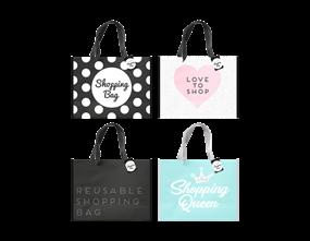 Non Woven Printed Slogan Shopping Bag