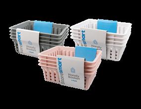 Plastic Handy Basket 4pk - Trend
