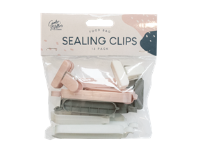 Bag Sealing Clips 13pk - Trend