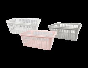 Plastic Handy Basket 2pk - Trend 6L
