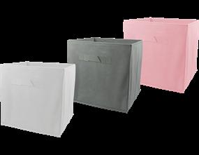 Plain Foldable Non Woven Storage Box - Trend