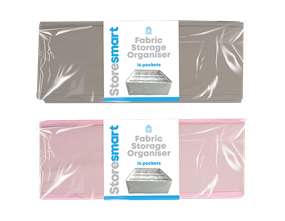 Foldable Fabric Storage Organiser 16 Pocket 10L