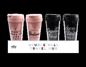Wholesale Double Wall Travel Mugs   Gem Imports Ltd