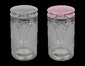 Mini Clip Top Jar - Trend
