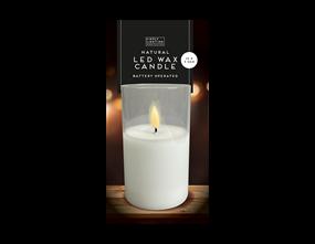 Wholesale LED Wax Candle Medium | Gem Imports Ltd