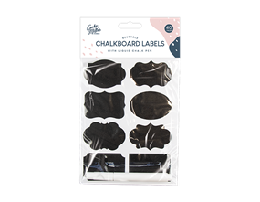 Wholesale Chalkboard Labels 40 Pack | Gem Imports Ltd